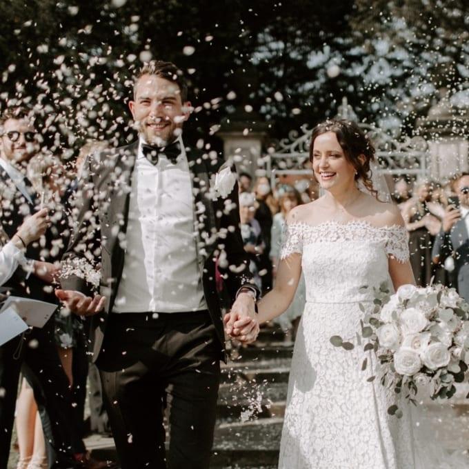 Chic Greenhouse Wedding at Abbeywood Estate