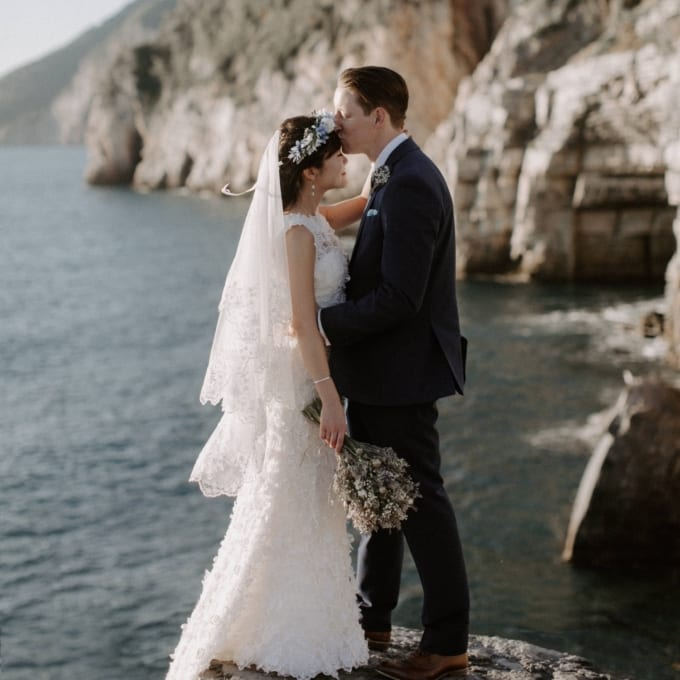 Portovenere Italy Destination Wedding at Church of St Peter