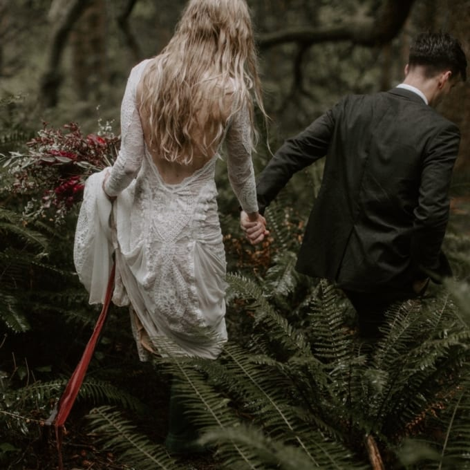 Wild Oregon Coast Elopement
