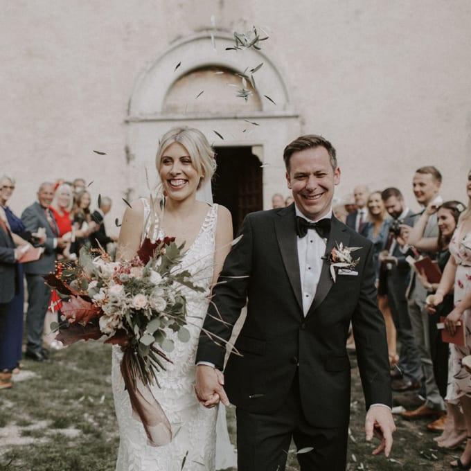 Abbazia San Pietro in Valle Italy Destination Wedding